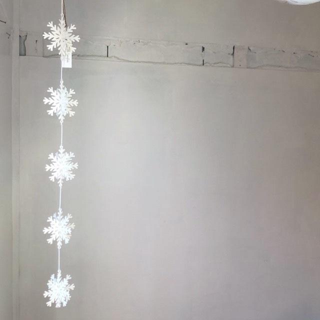 Tin Ornament Wobble Snow Flake ブリキ オーナメント