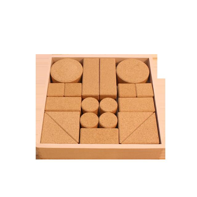コルク積木(小) - 画像1