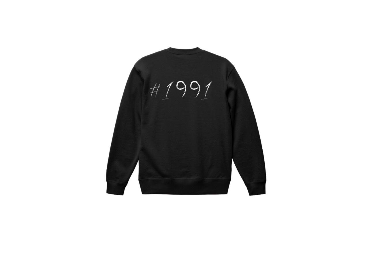 1991 big logo sweat (blk/wht)