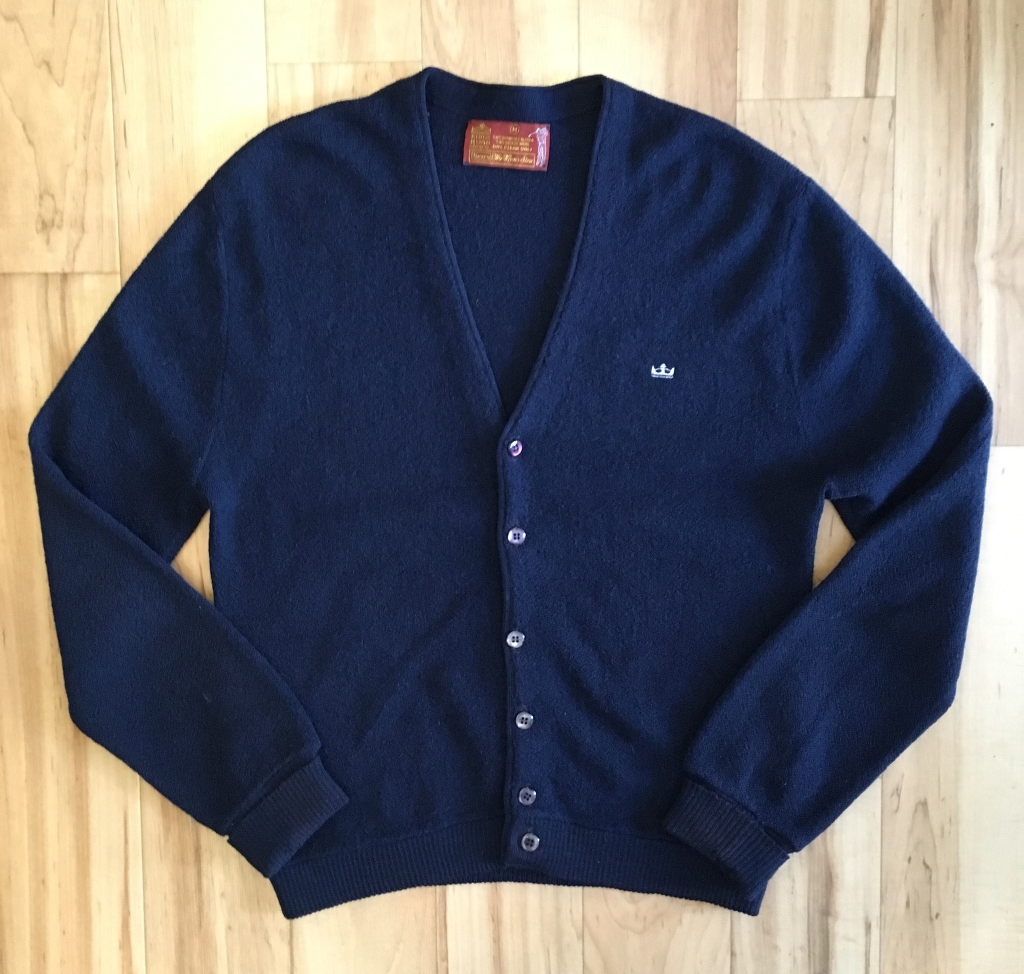 Sears KINGS ROAD shop Knit Cardigan