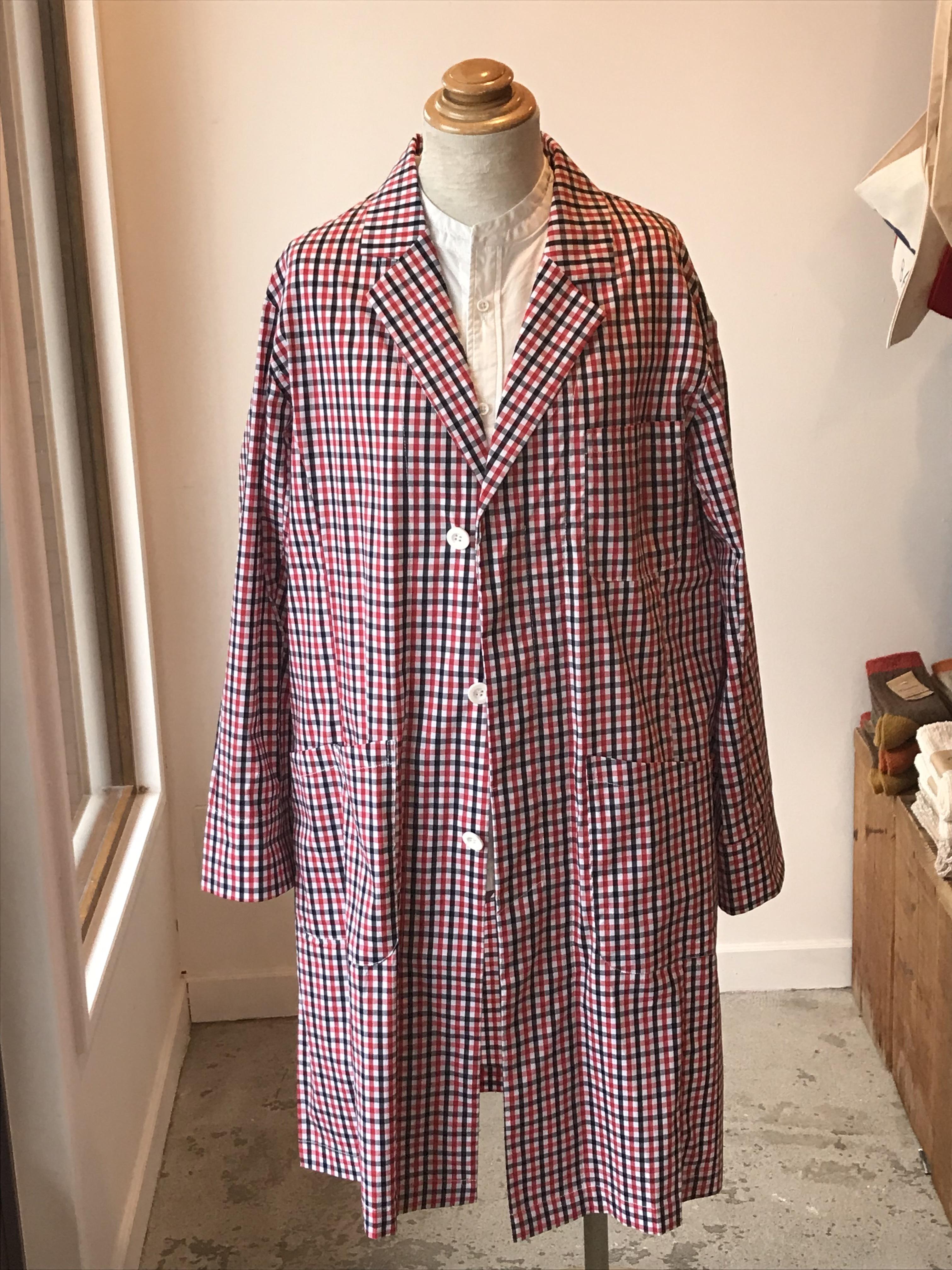 Pnenka Whyte Coat Dr.Christopher(black/red gingham-check)