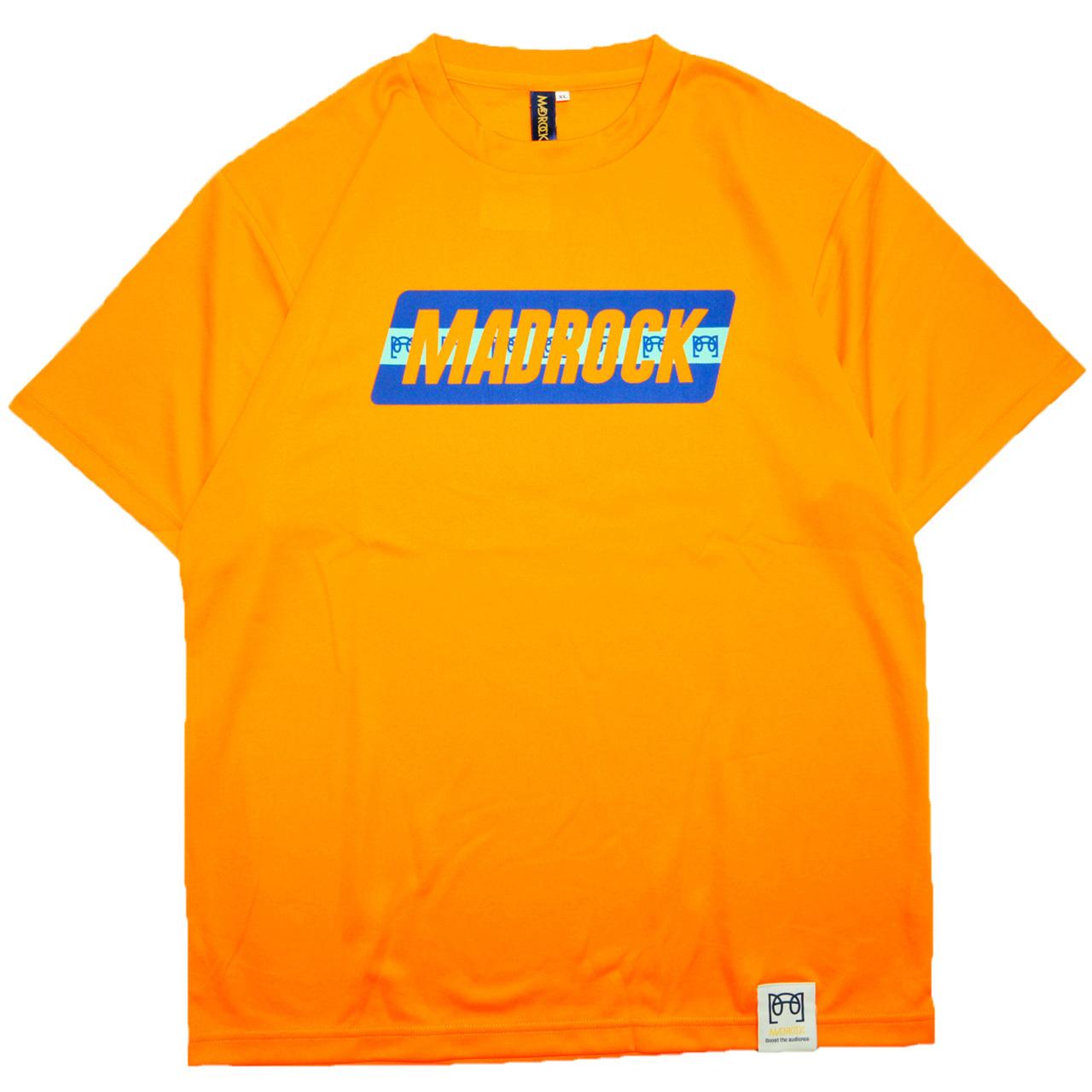 マッドロック - ブレインボール - Tシャツ / ドライタイプ / オレンジ / MADROCK - BrainBall - TEE