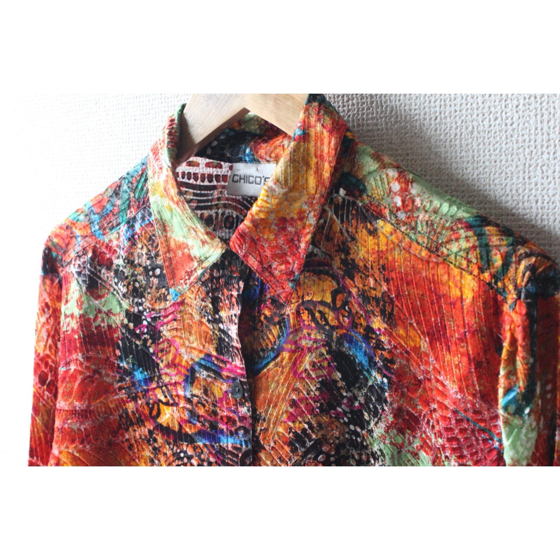 Vintage see through shirt