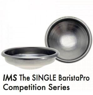 〔3個セット〕フィルターバスケット●IMS BaristaPro The SINGLE B70 E61 マルゾッコ