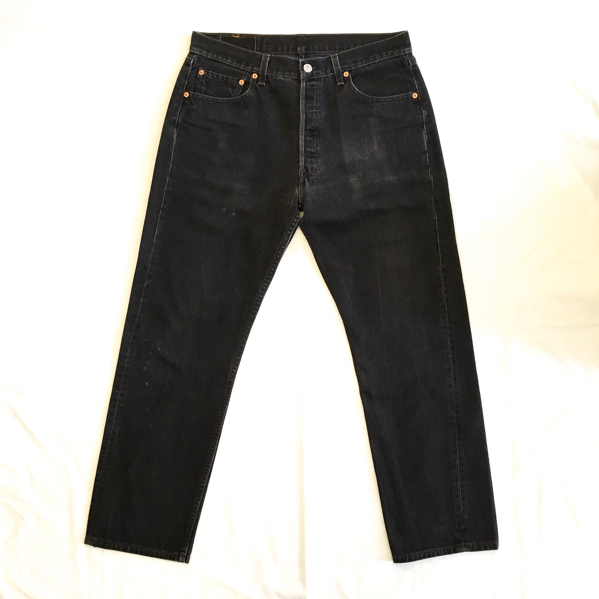 "90's Levi's 501 BLACK ""MADE IN USA"" <Used>"
