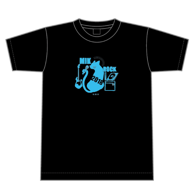 MIKROCK'18 公式Tシャツ(50%OFF!)