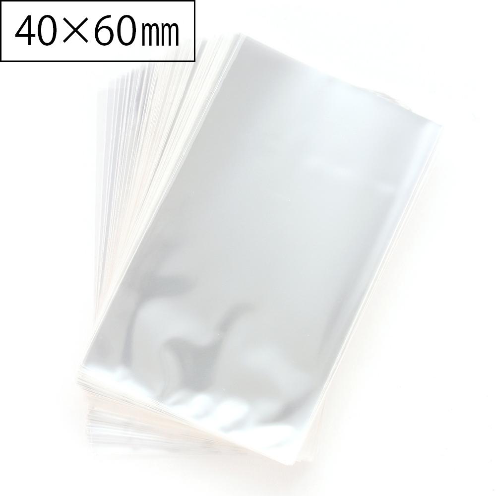 A007 OPP袋 S シールなし ラッピング用透明袋 40×60mm 300枚