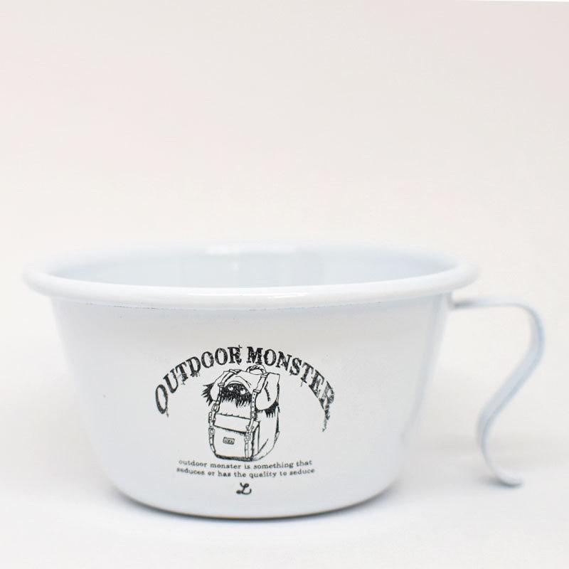 Lock OUTDOOR MONSTER シェラカップ風ホーローマグ