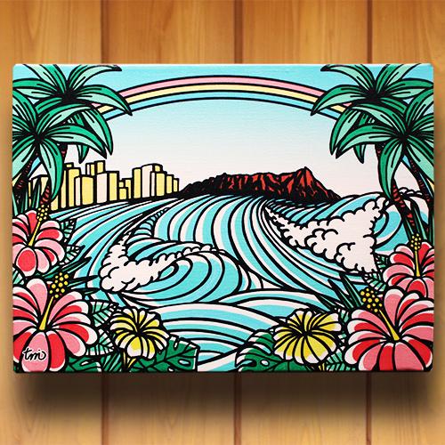 アートパネル F4号(Town of Hawaii)