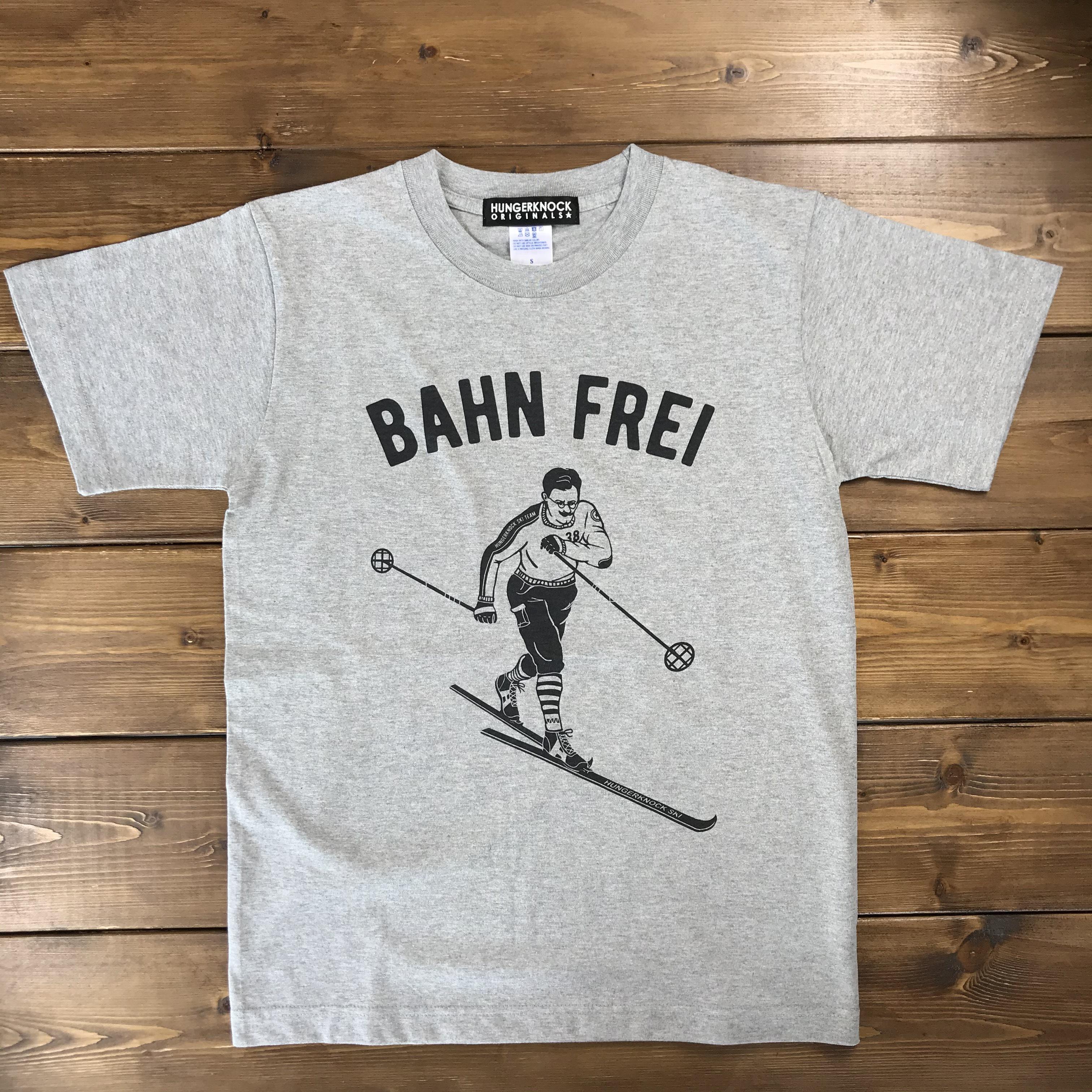 BAHN FREI Tee / gray