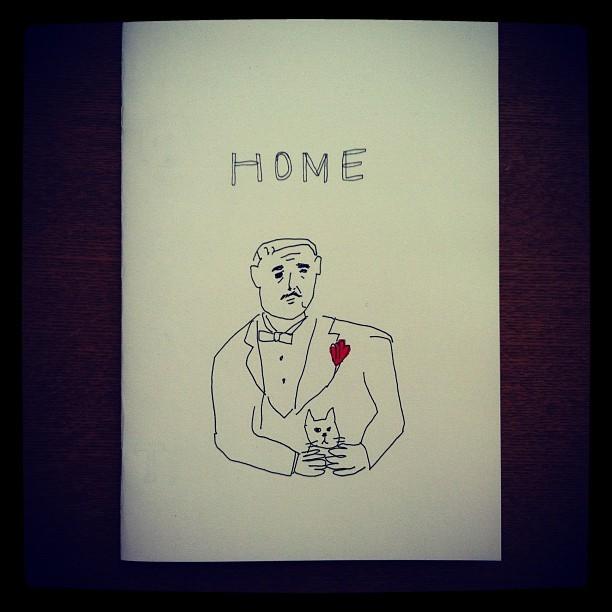 ZINE「HOME/ミヤタチカ」 - 画像1