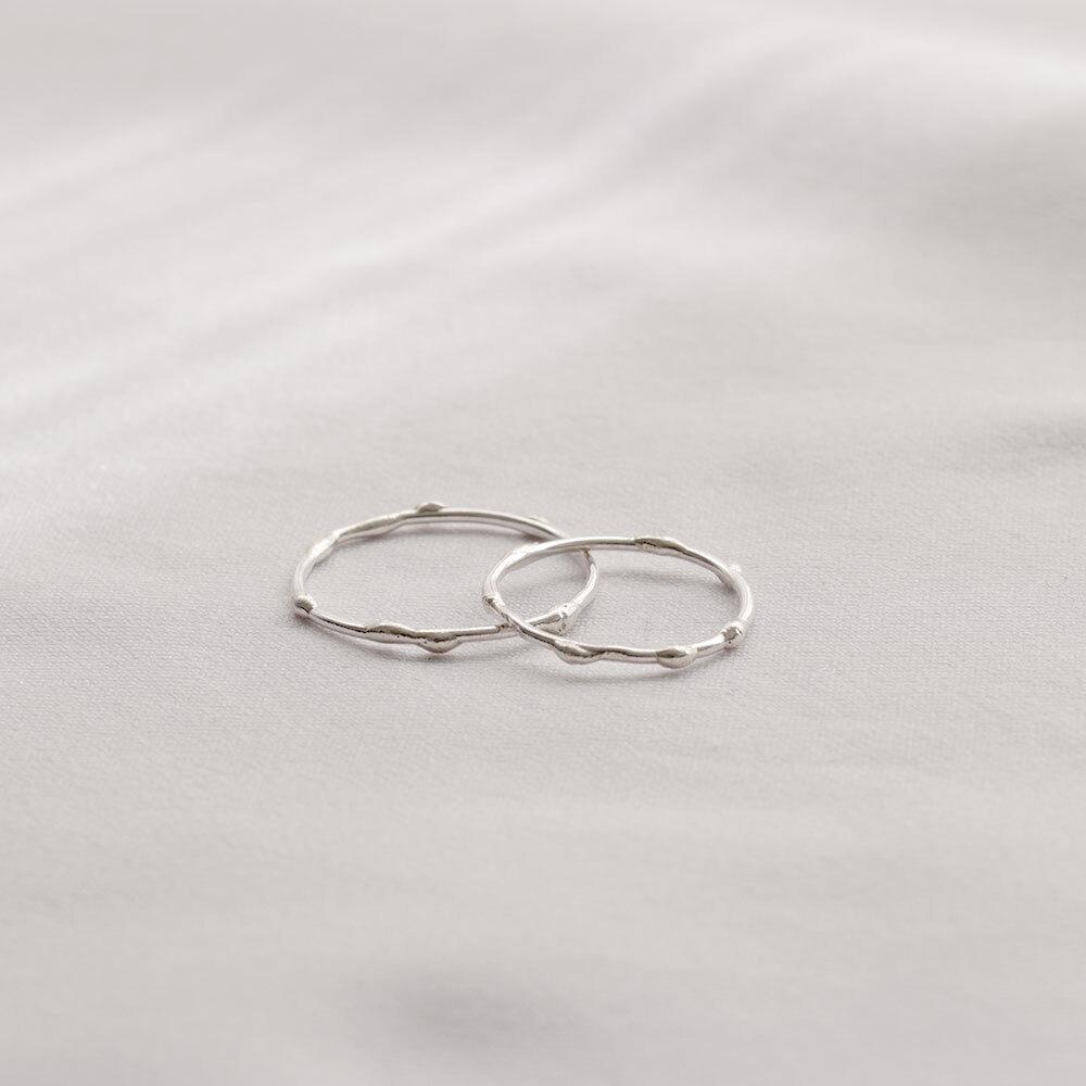 Melt / Ring - Silver