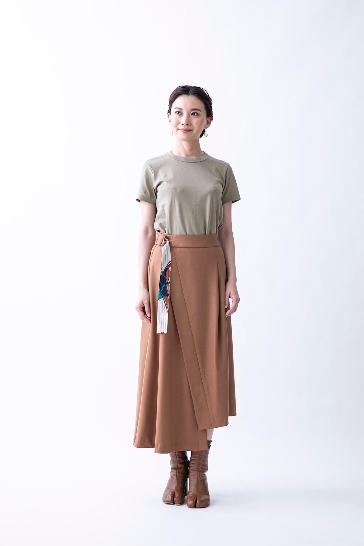 ソフトサーモスカート 4色:キャメル