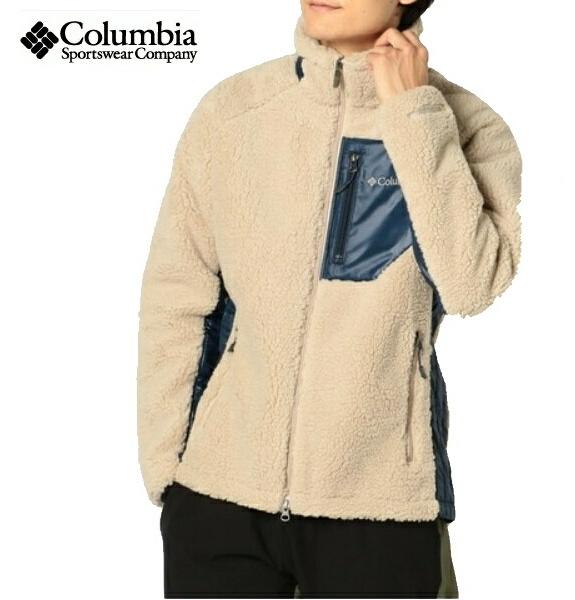 コロンビア Columbia フリース ジャケット アーチャーリッジジャケット PM3743 Archer Ridge Jacket FossilCollegiate Navy