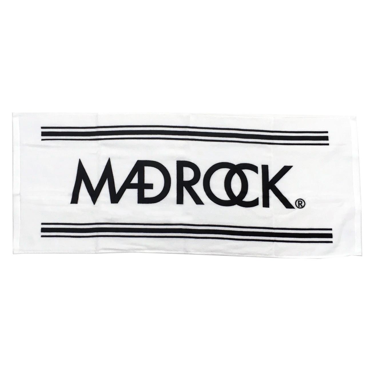 マッドロック ロゴ タオル ホワイト&ブラック / MADROCK  LOGO Towel / White&Black