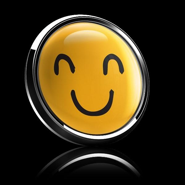 ゴーバッジ(ドーム)(CD1087 - EMOJI SMILE HAND DRAWING 2) - 画像5