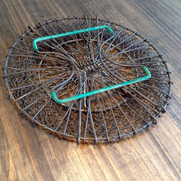 French Wire Collapsible Basket