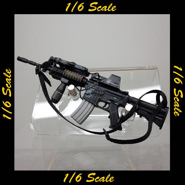 【00907】 1/6 ホットトイズ M4 ライフル