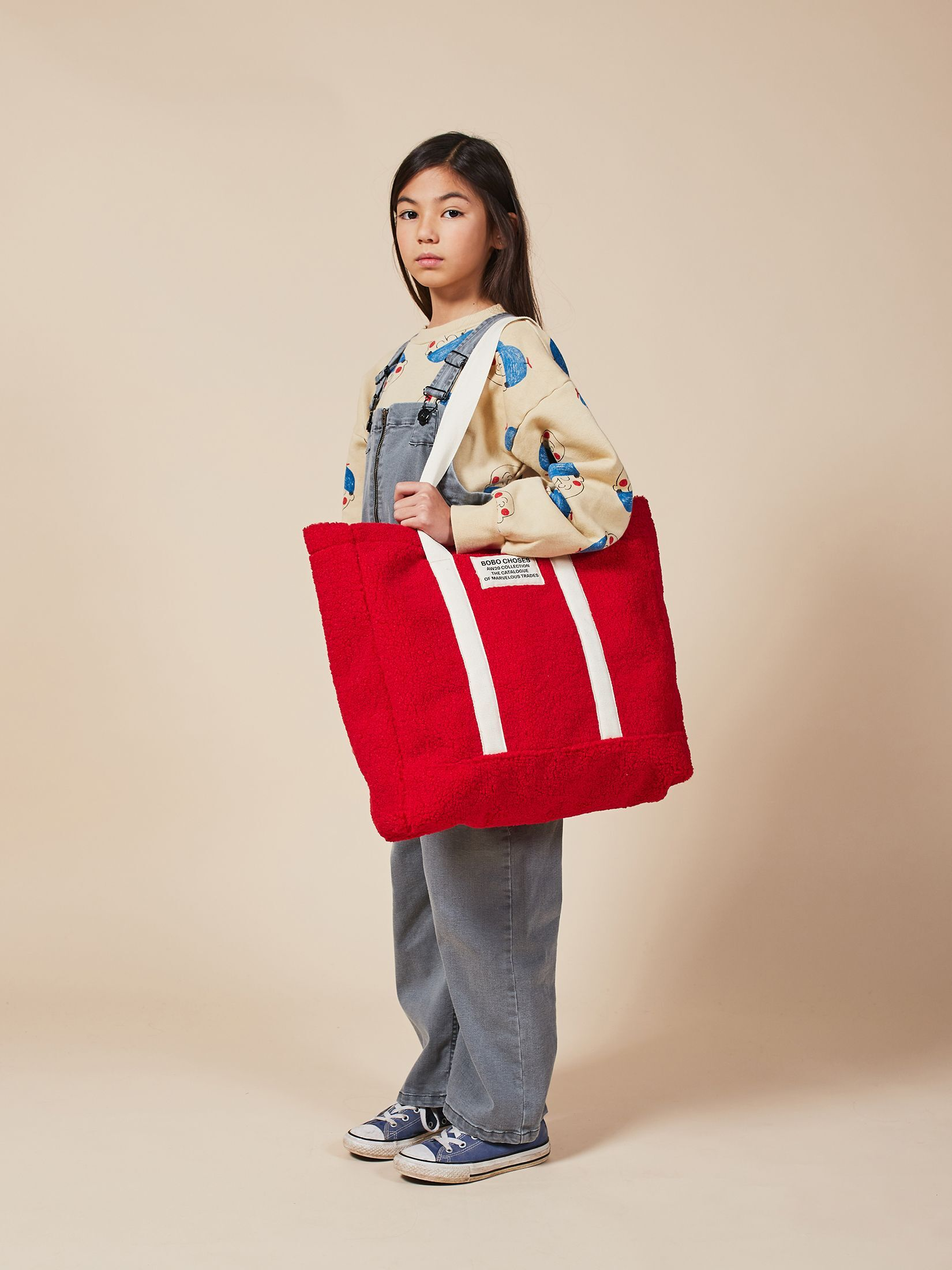 BOBO CHOSES ボボショセス Large Sheepskin Handbag