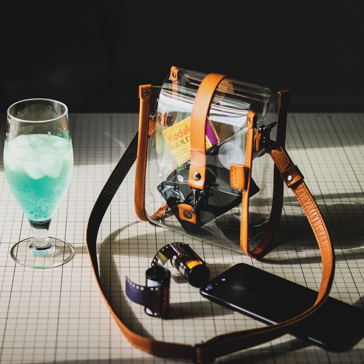 【再販】クリアバッグ 透明ショルダーバッグ Clear Bag