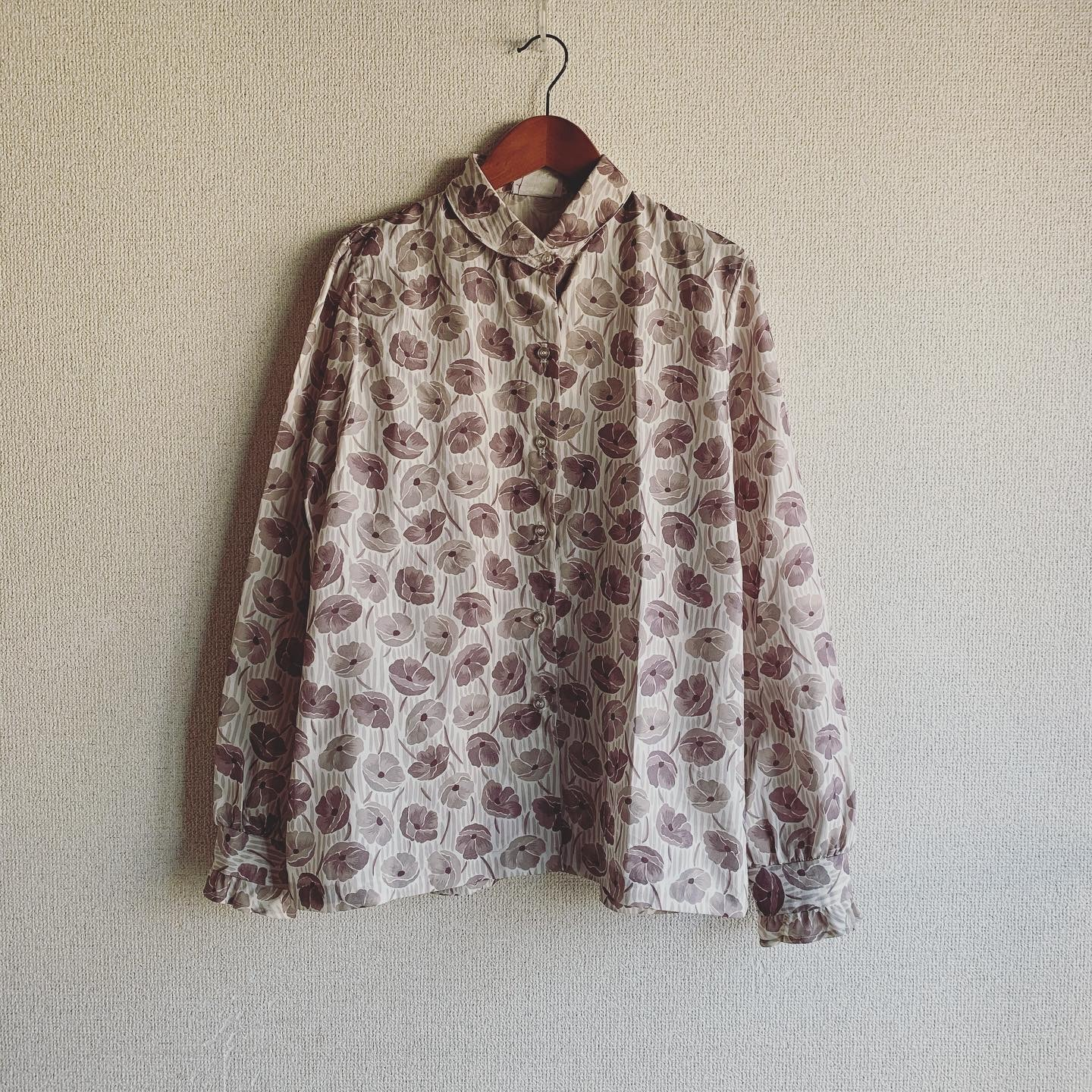 【SALE】vintage flower design shirts
