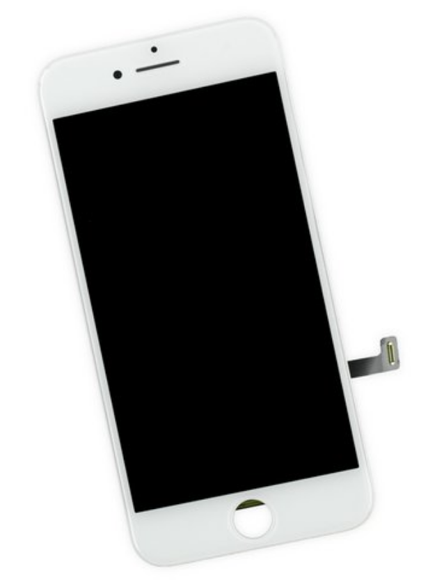 【iPhone7P】フロントパネル(防水パッキンシール1枚付)