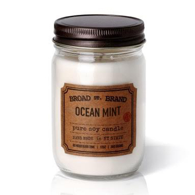 OCEAN MINT CANDLE - BROAD STREET BRAND