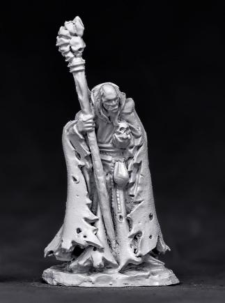 杖と髑髏を持つネクロマンサー - 画像2