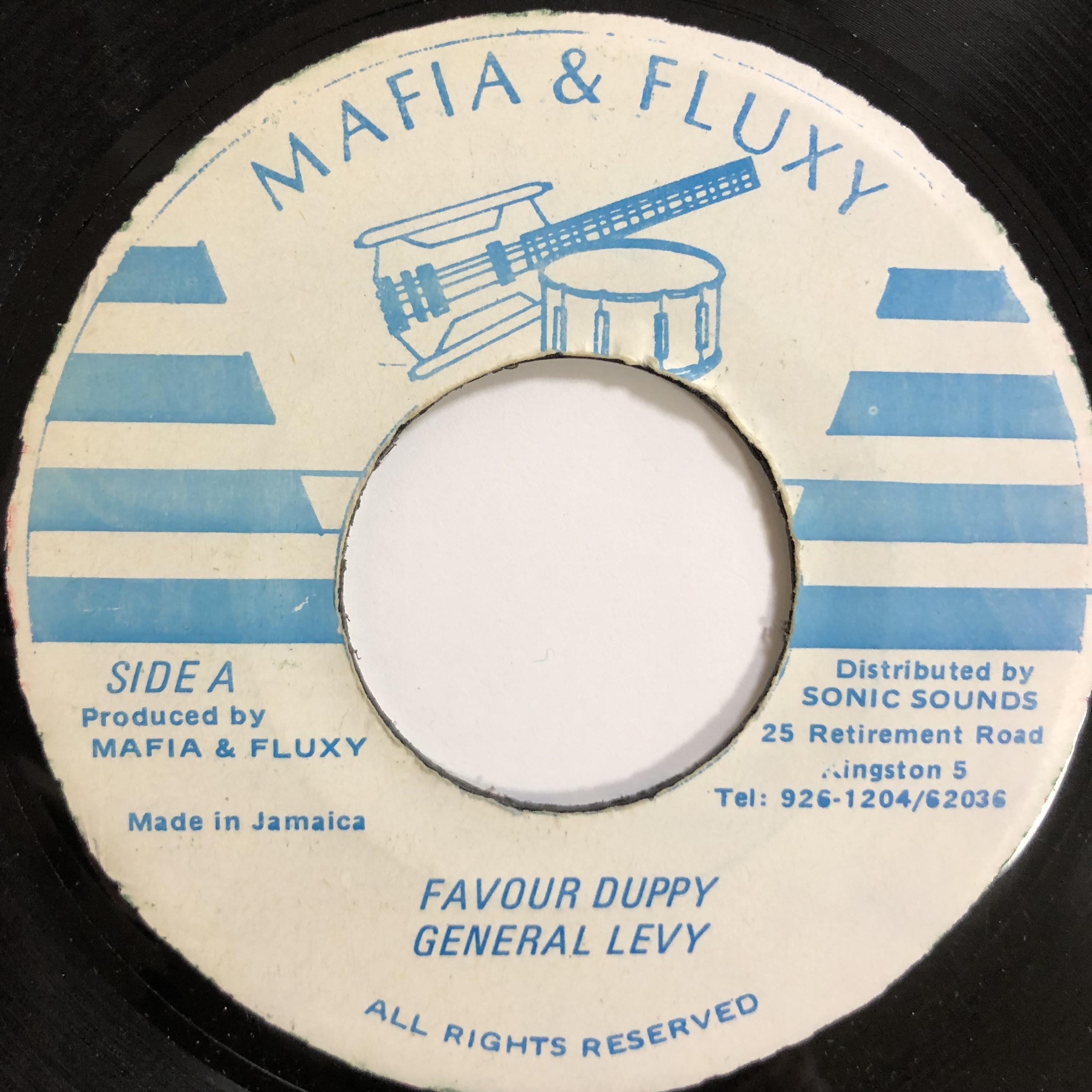General Levy(ジェネラルリヴィ) - Favour Duppy【7-20040】