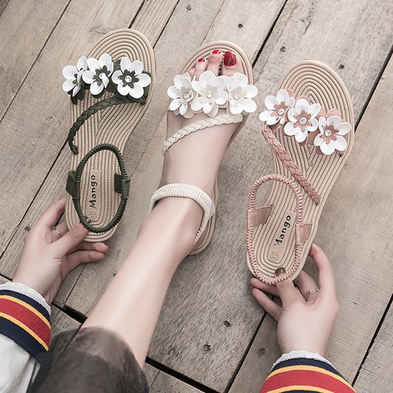 【shoes】ファッション配色合わせやすいサンダル20045790