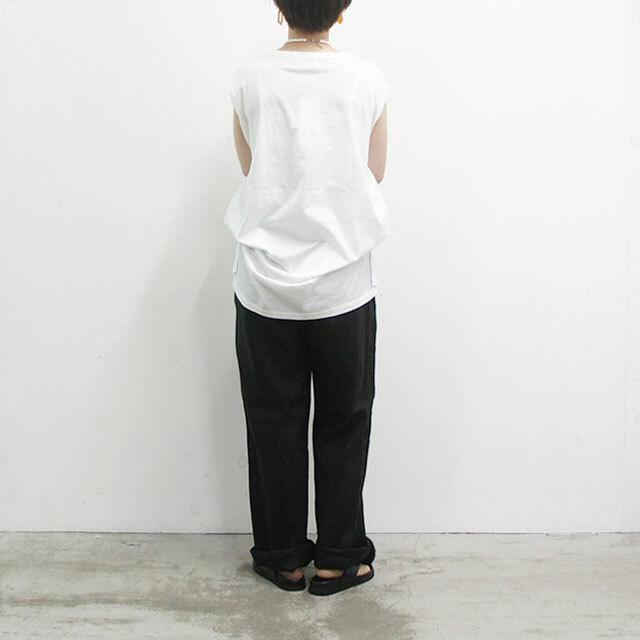 【2020/5月再入荷予定】 ichi イチ リネンワイドパンツ (品番la011)