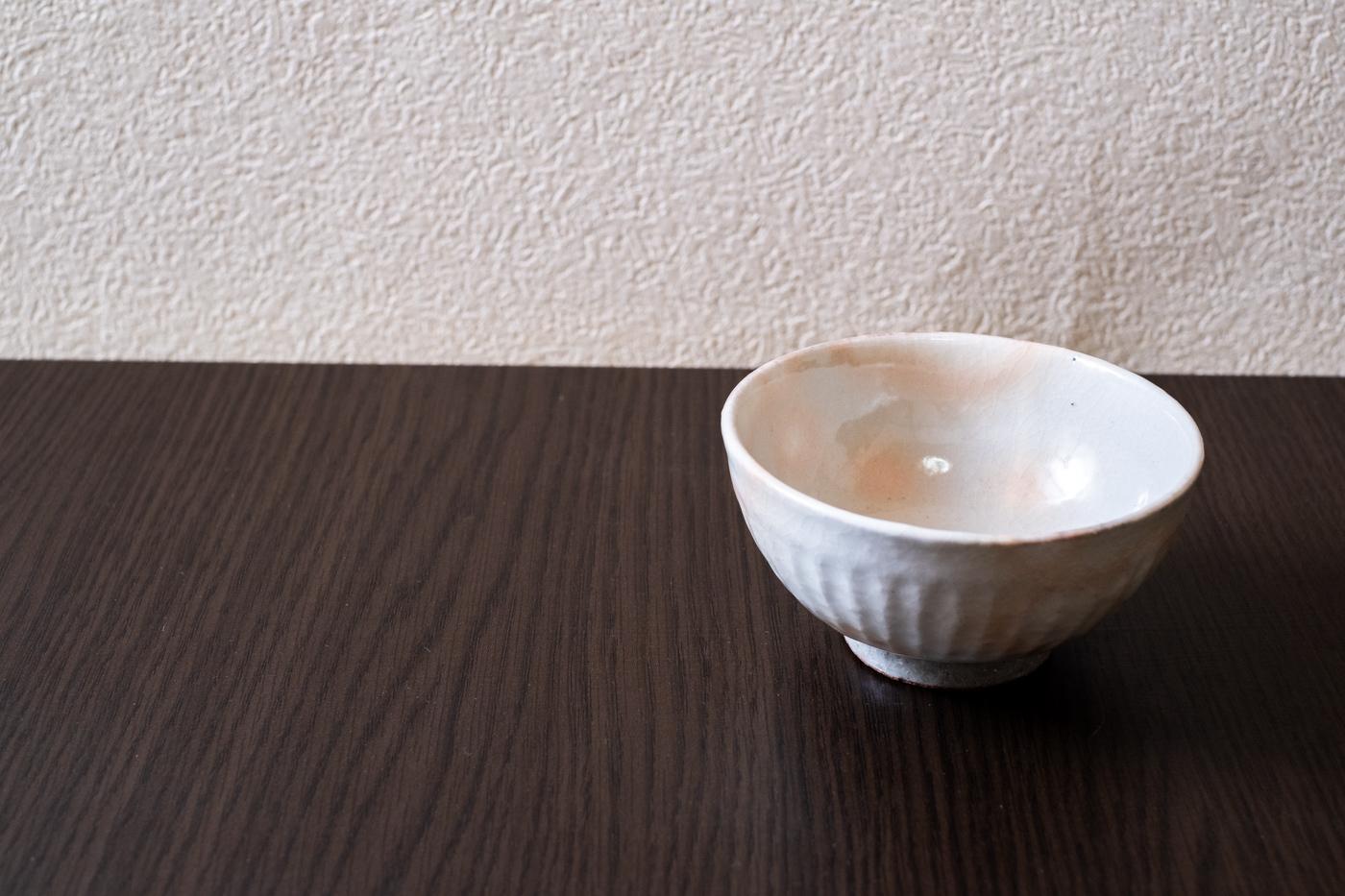 粉引しのぎ茶碗