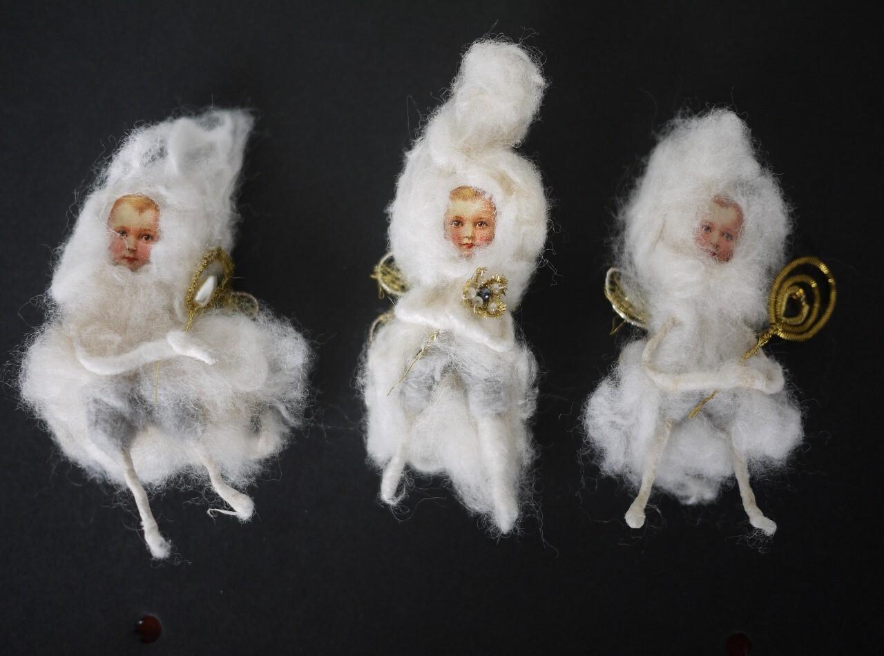 綿人形 小さな妖精 ドイツ手工芸