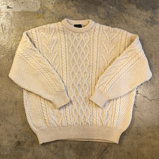 Bracken Aran Sweater ¥8,400+tax