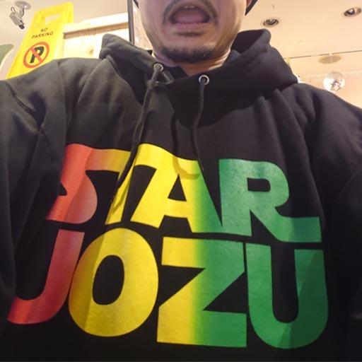 "STAR UOZU ""超BIGパーカー"" ラスタ"