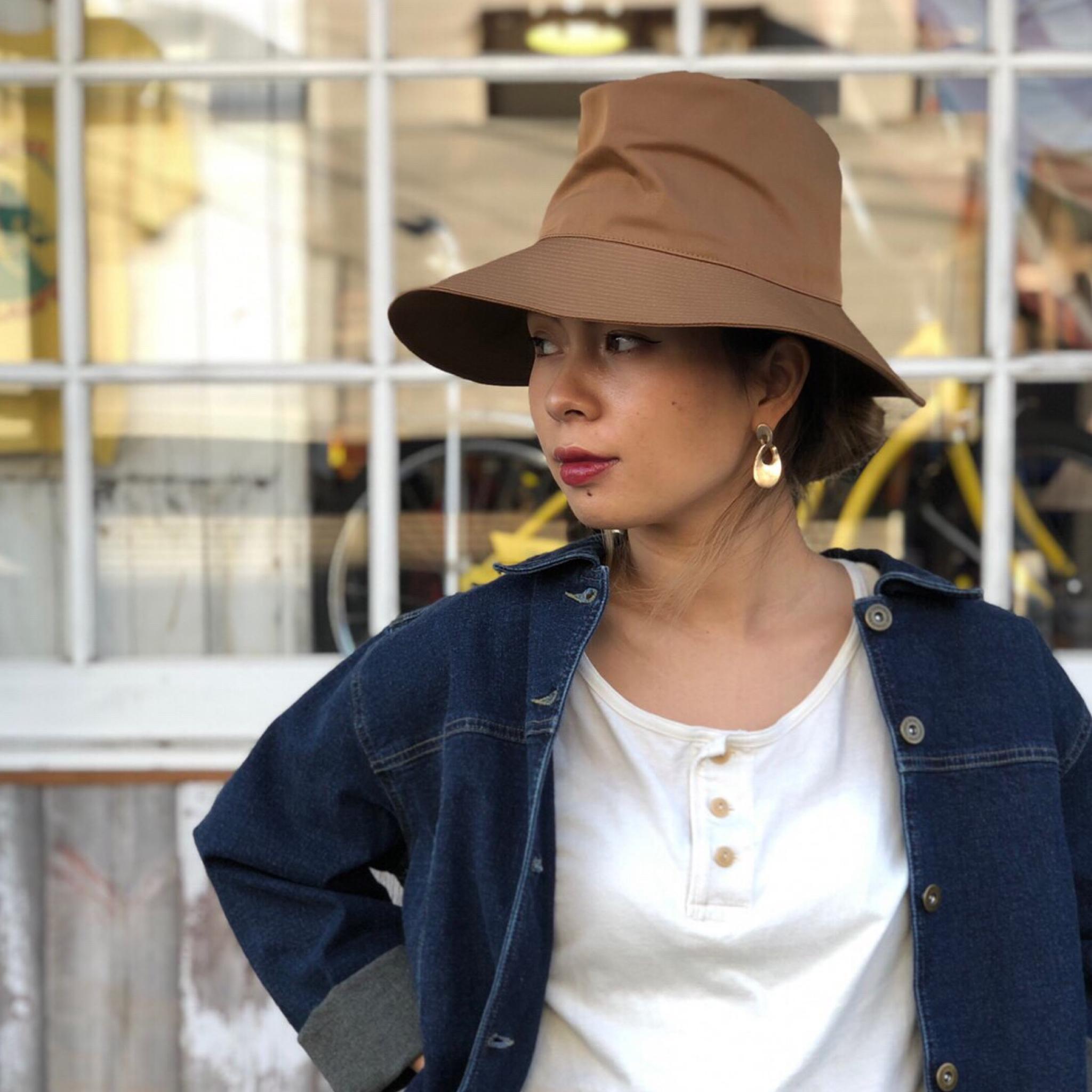 MARIHOJA #Stitch Satin Hat