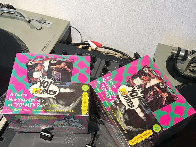 YO!MTV RAPS|シールド付き1BOX