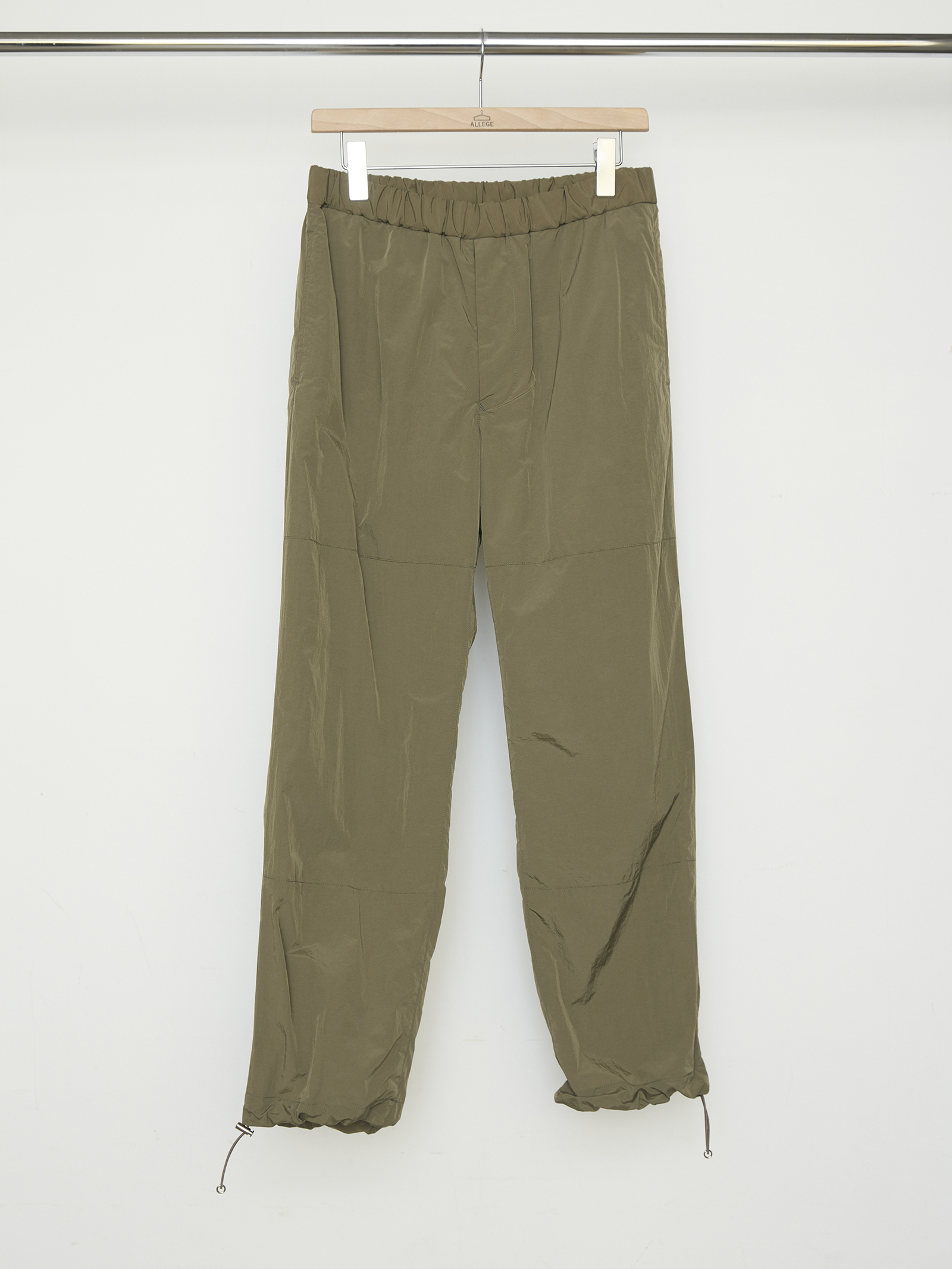 Nylon Easy Pants - KHAKI