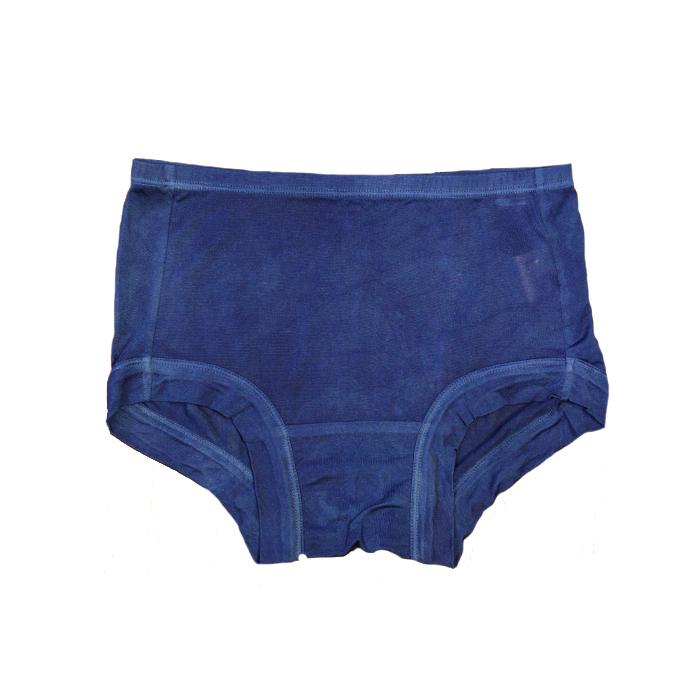 藍染めシルク100%ボクサーショーツ~紺瑠璃(こんるり)~