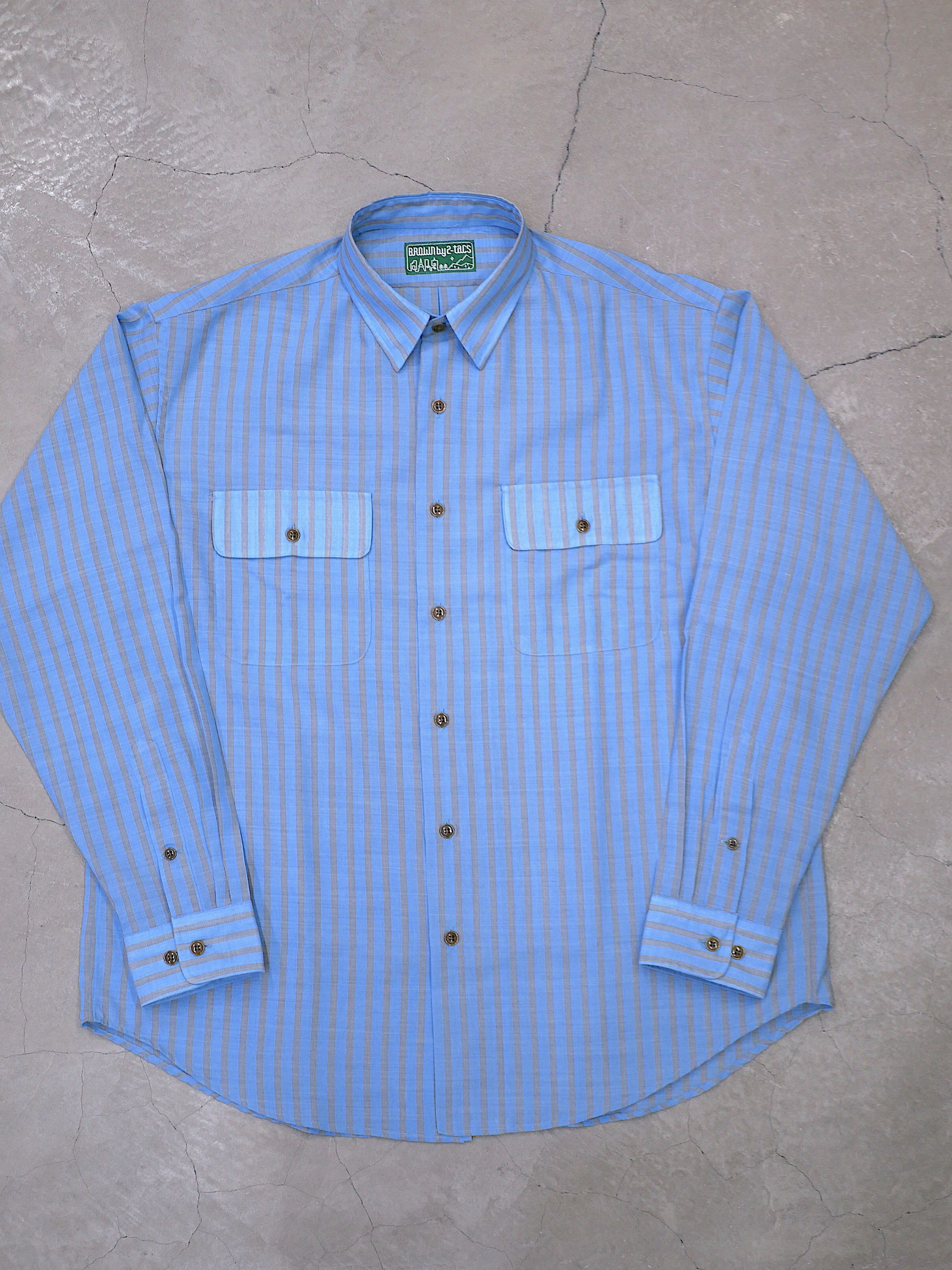 BROWN by 2-tacs / REGULAR COLLAR SHIRTS