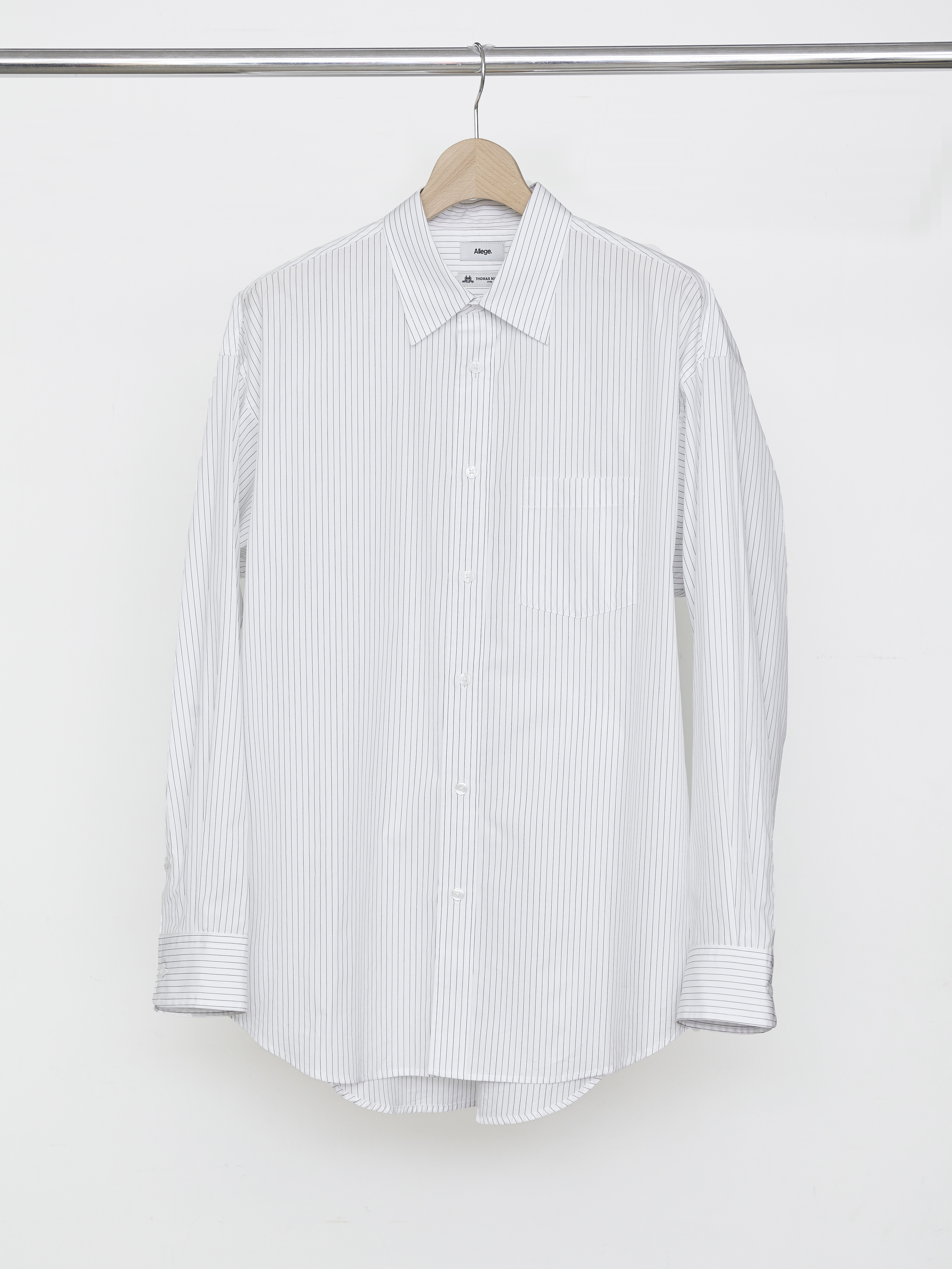 Standard Stripe Shirt - White