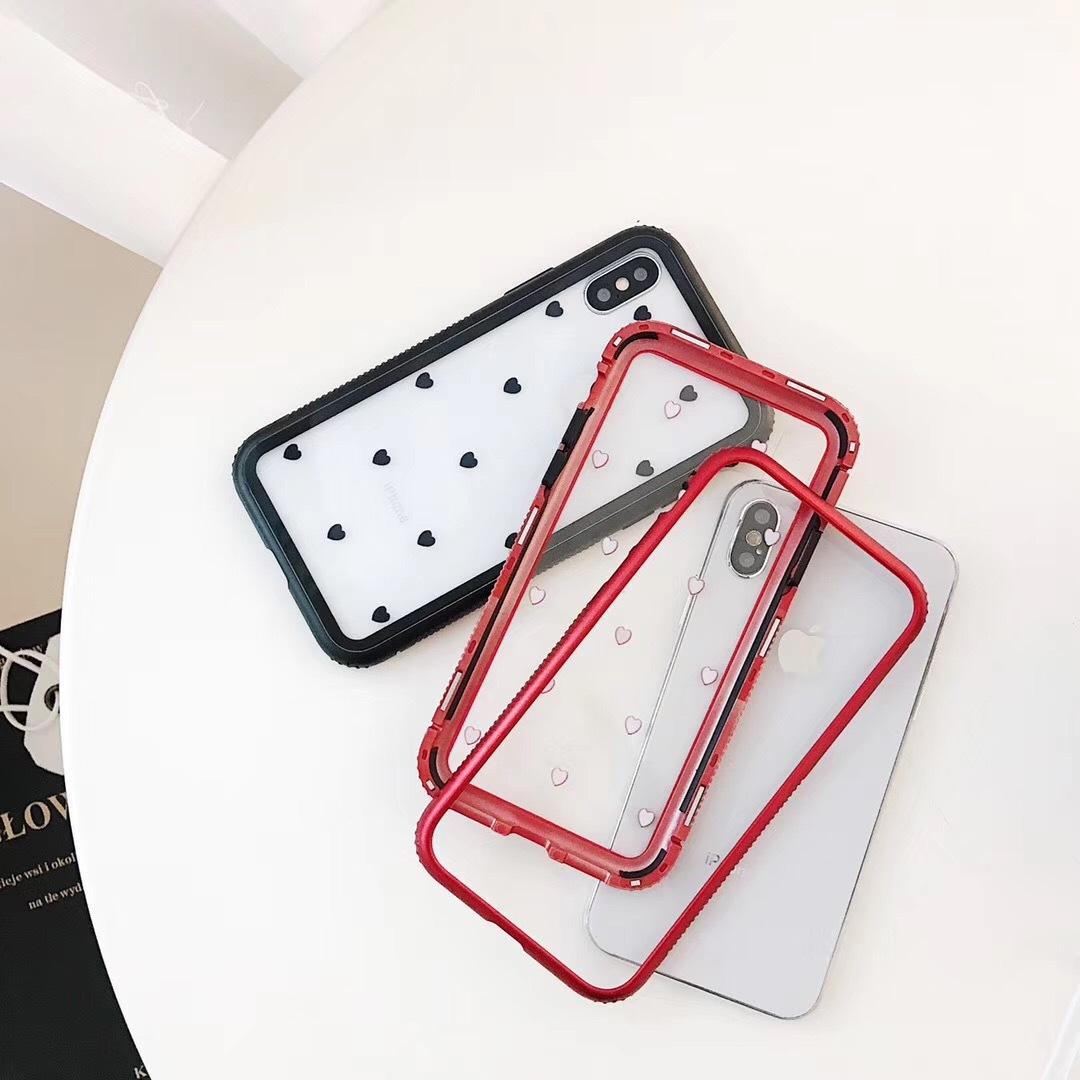 229c1ac7f6 ハート柄 かわいい iPhoneケース スマホケース スマホカバー iPhone6s iPhone7 iPhoneX 人気 韓国 ハート