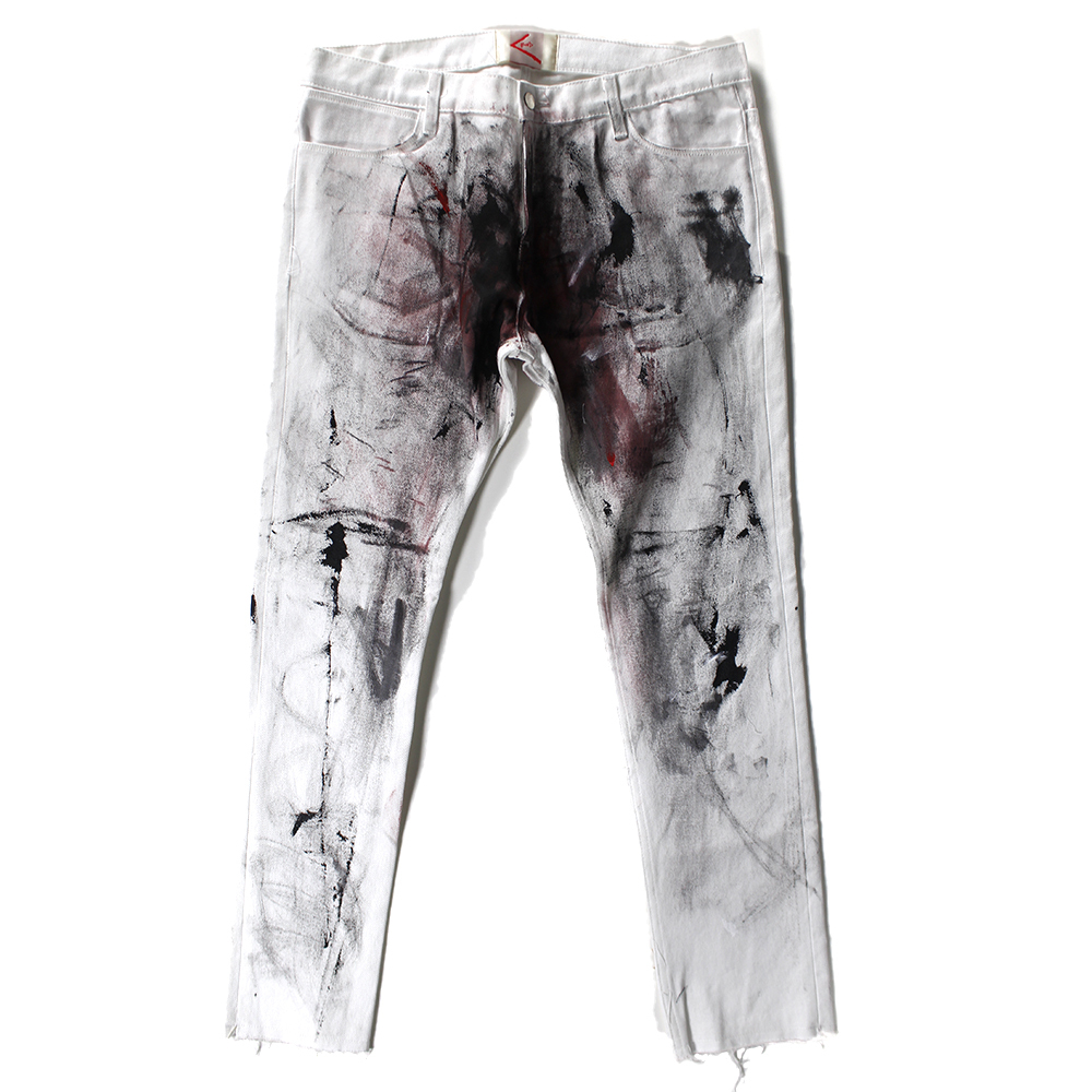 BOND paint denim pants