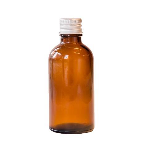 50ml シルバーキャップ付き遮光瓶