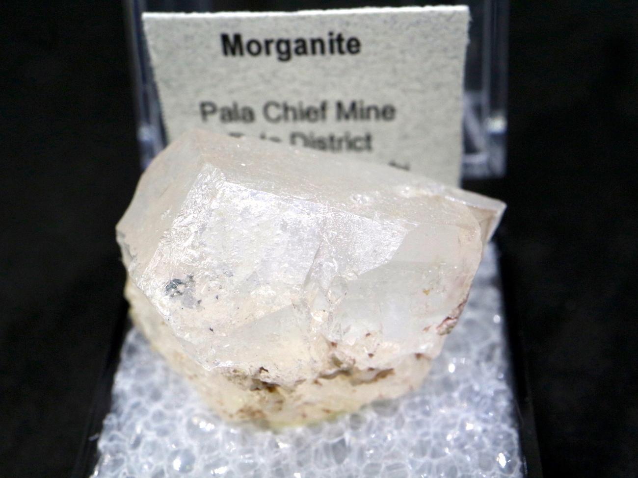 ケース入り モルガナイト 原石 天然 非加熱 モルガン石  MN008