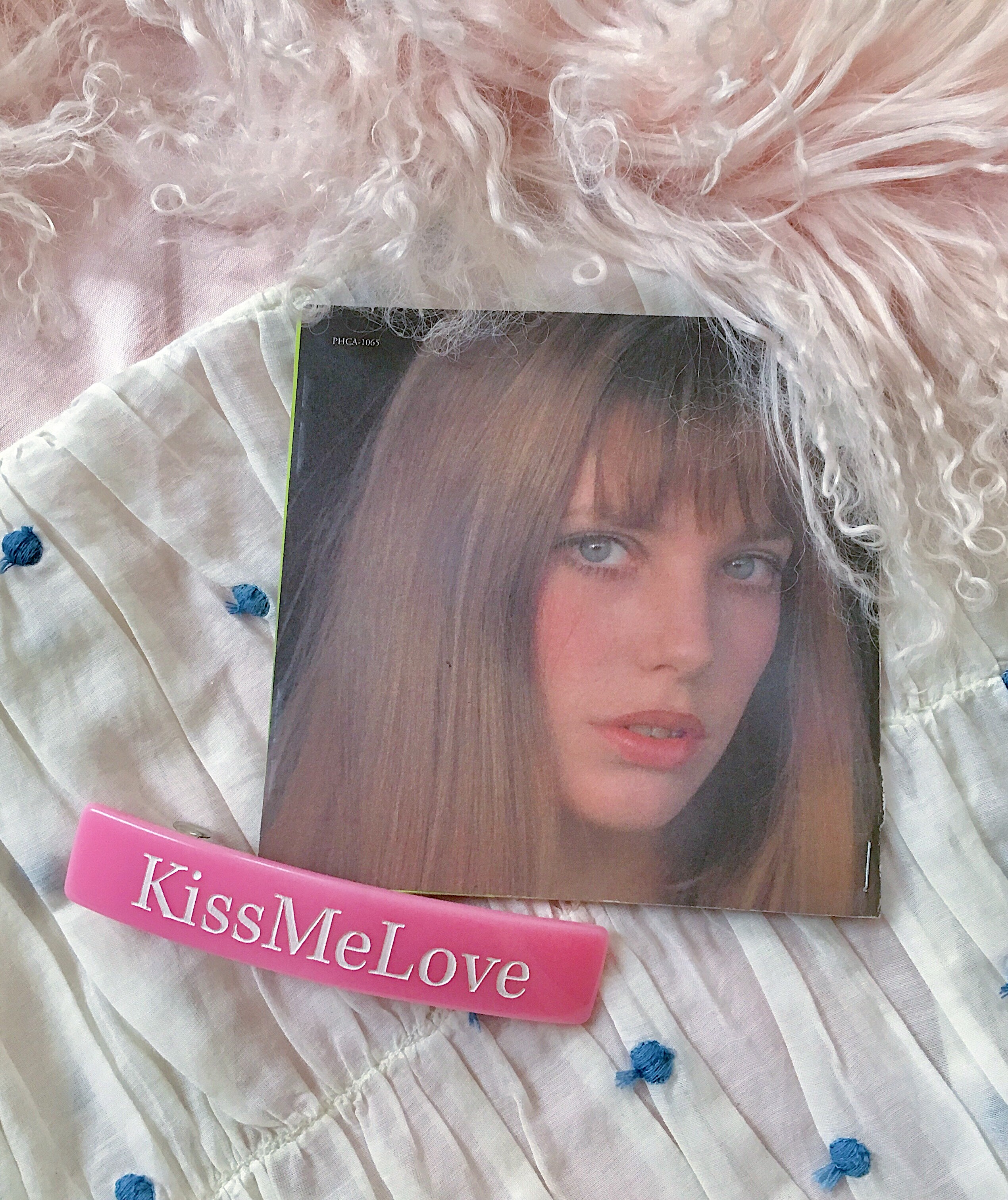 KissMeLove barrette
