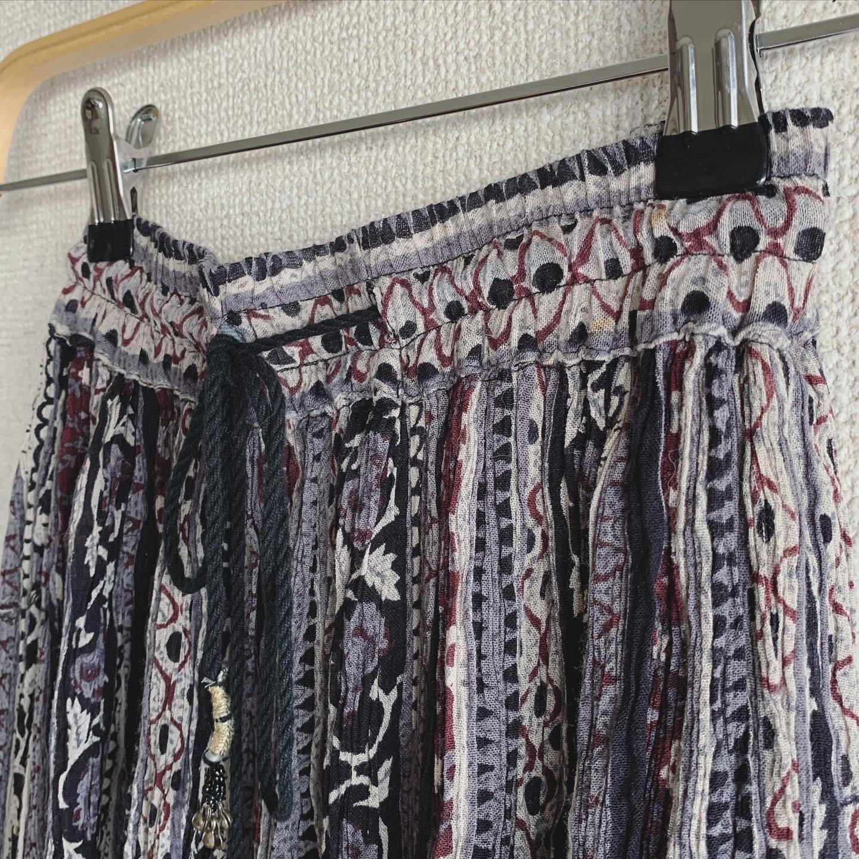 vintage viscose design skirt