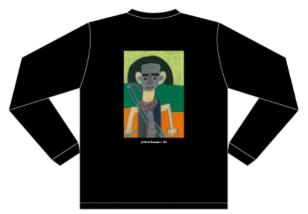 【Yutarou Hamada × XL】ロングスリーブTシャツ ブラック