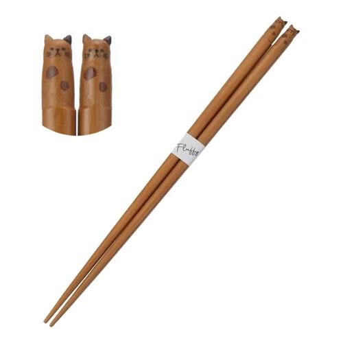 猫箸(Fluffy)ブチネコ