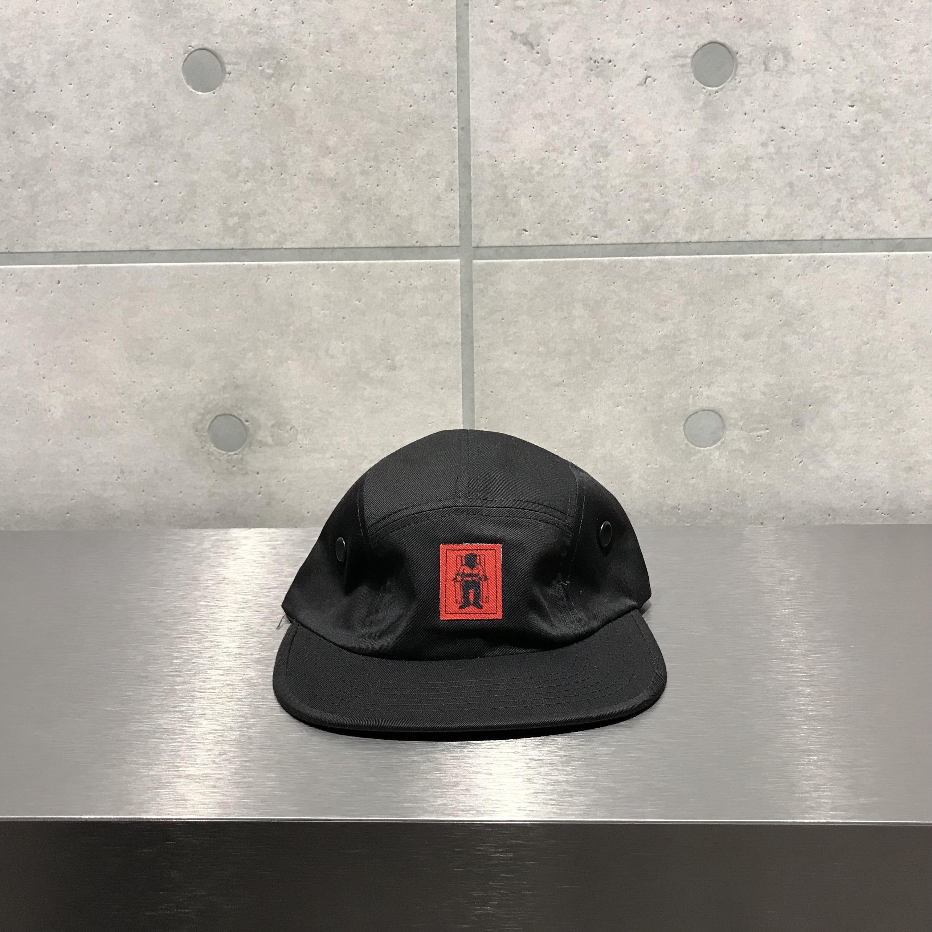 Death Row Records 5 PANEL HAT / BLACK